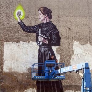 Mural art Olomouc